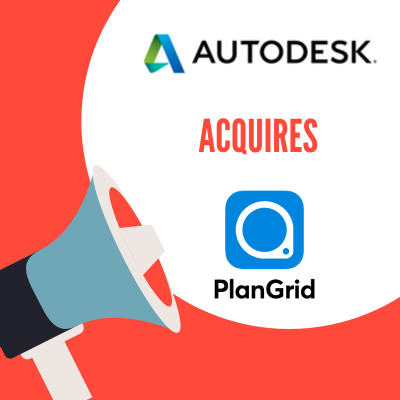 Autodesk acquires PlanGrid deal terms
